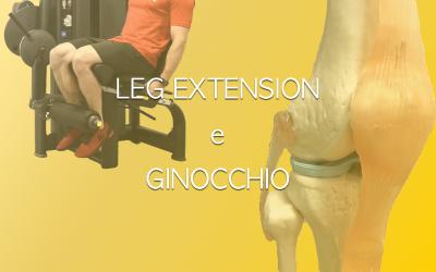 Leg extension e ginocchio: si o no?