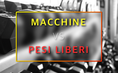 Macchine o pesi liberi: le differenze