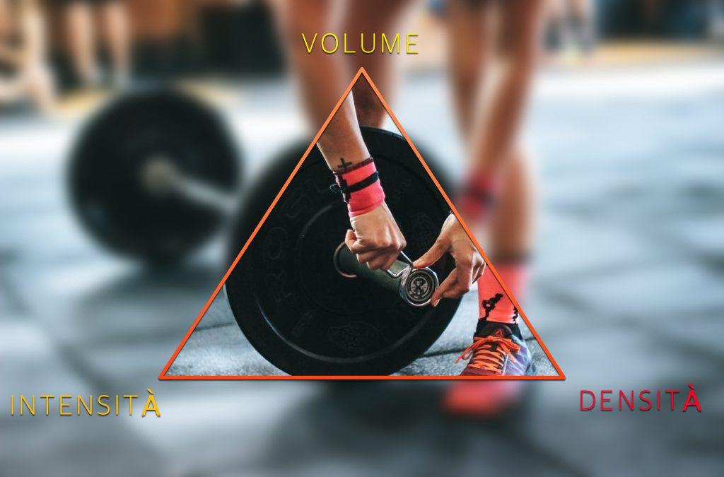 Intensità, volume e densità nell'allenamento