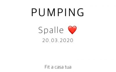 PUMPING   Spalle, spalle e ancora spalle