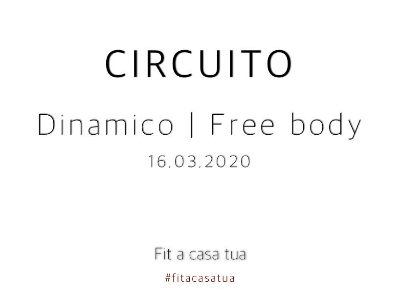 CIRCUITO DINAMICO | Corpo libero
