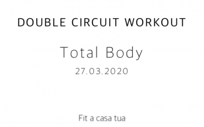 DOUBLE CIRCUIT WORKOUT   Total body