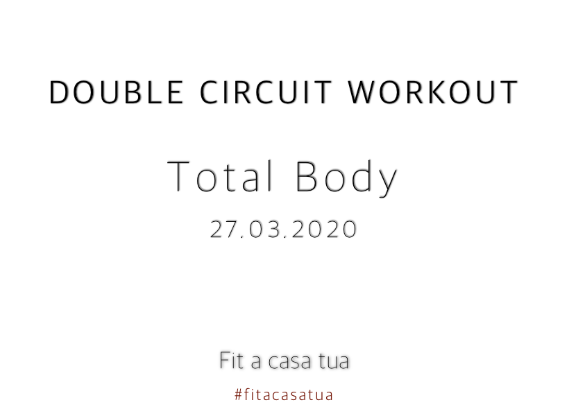 DOUBLE CIRCUIT WORKOUT | Total body