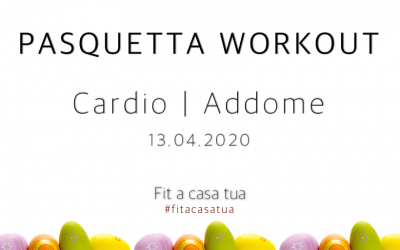 PASQUETTA WORKOUT | Cardio – Addome