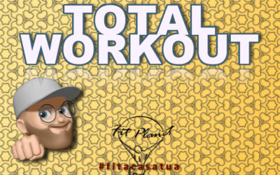 TOTAL WORKOUT | Parte alta – Bassa – Addome