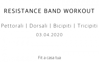 RESISTANCE BAND WORKOUT | Parte alta