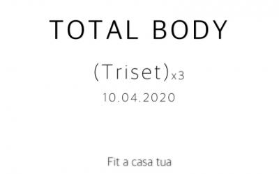 TOTAL BODY | Tre triset per tutto il corpo
