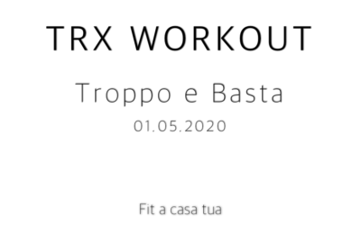 TRX WORKOUT | Allenamento Instabile