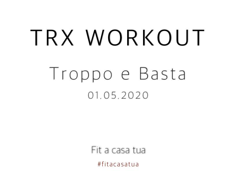 TRX WORKOUT | Allenamento Instabile