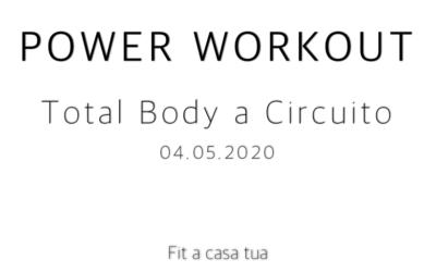 POWER WORKOUT | Un allenamento distruttivo